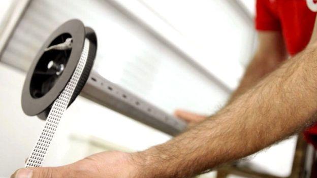 tutorial paso a paso de como cambiar la cuerda de una persiana